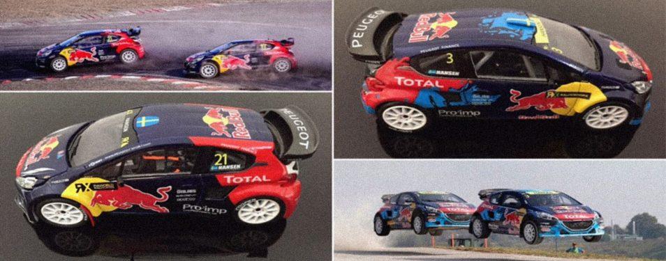 1/43 Scale Peugeot Rallycross Repli...