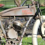 Vintage motor bicycle restoration with custom waterslide decals.