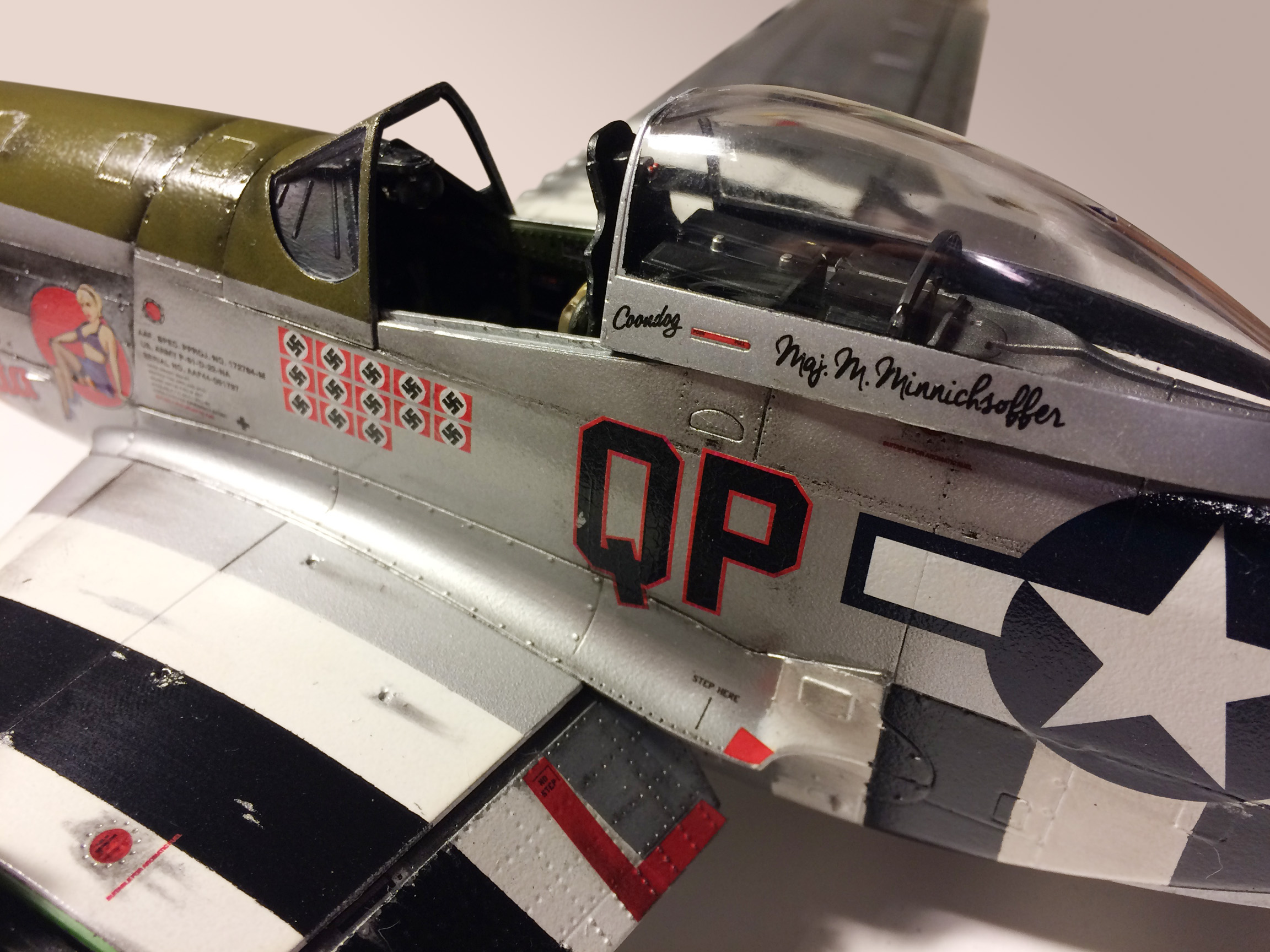 1 32 Scale P 51 Mustang Model Plane Bedlam Creations