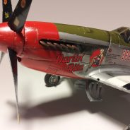 1:32 Scale P-51 Mustang Model Plane