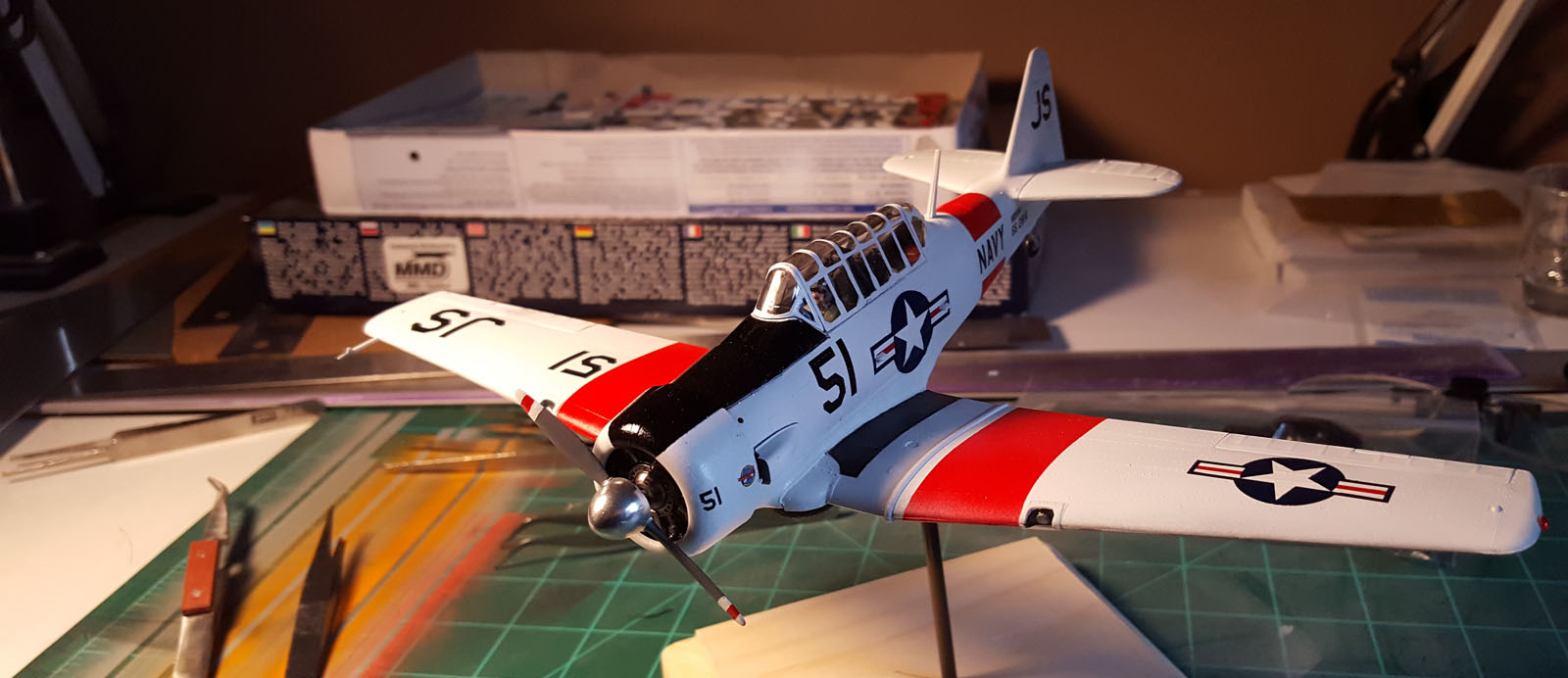 1 48th Scale Model Plane Replica Decals Bedlam Creations